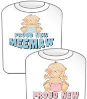 Proud New MeeMaw T-shirt Design