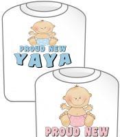 Proud New YaYa T-shirt Design