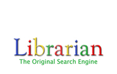 Librarian: The Original Search Engine. Show the world that librarians make better searchers.  A great gift idea for that favorite Book Geek Librarian you know.