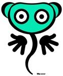 Green Freaky Cute