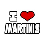 Shirts & Apparel for Martini Lovers