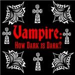 How Dark is Dark, red