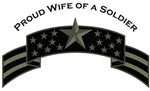 Proud Wife of a Soldier, Stars & Stripes©, ACU