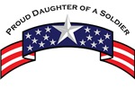 Proud Daughter of a Soldier, Stars & Stripes©