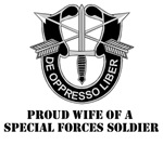 Proud Wife of a Special Forces Soldier