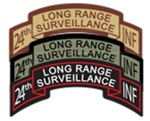 24th INF LRS Scrolls- All Colors