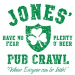 Jones' Irish Pub Crawl