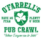 O'Farrell's Irish Pub Crawl