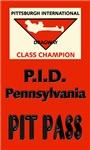 Pittsburgh International Dragway Pit Pass