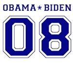 Obama Biden 08 Collegiate