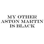 Black Aston Martin