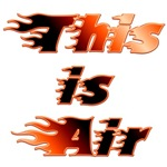 Air Guitar On Fire!