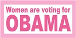 Women are voting for Obama