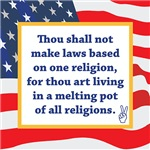 Keep The Bible Out of American Laws!