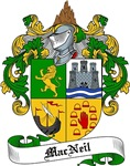 MacNeil Family Crest / Coat of Arms