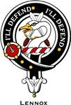 Lennox Clan Crest Badge