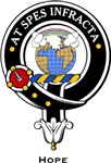 Hope Clan Crest badge