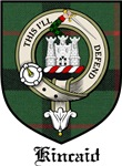 Kincaid Clan Crest Tartan
