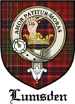 Lumsden Clan Crest Tartan