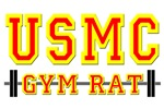 USMC GYM RAT T-SHIRTS