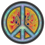 Fire and Ice Peace Symbol