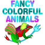 ANIMALS: Fancy Colorful Stylized Animals