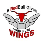 A Red Bull Gives Your Nuts Wings