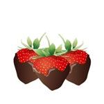 Chocolate Strawberry Trio