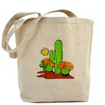 Desert Cactus Southwestern Totes