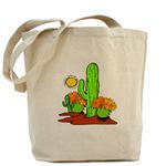 Desert Cactus Southwestern Totes
