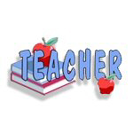Teachers Books and Apples For The Teacher!