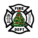 Firefighter Christmas Tree Gifts &amp; T-Shirts