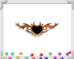 Heart Flames Tattoo Personalized Gifts & T-Shirts!