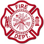 Firefighter Baby Gifts and Fire Dept Logo