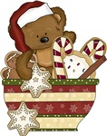 Sweet Christmas Bear