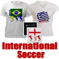 Soccer around the world t-shirts and gifts