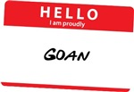 Hello I am proudly Goan