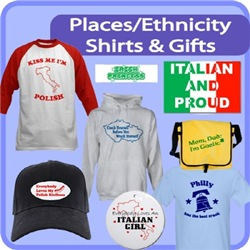 Places / Ethnicity Shirts And Gifts