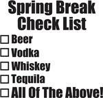 Spring Break Checklist