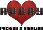 I Love Rugby Rucking & Mauling T-Shirts Gifts