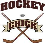 Hockey Chick T-Shirts Gifts
