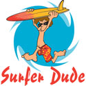 Surfer Dude T-Shirt & Gifts