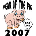 Year of The Pig T Shirts 2007