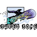 Shred Some Powder T-Shirt Gifts