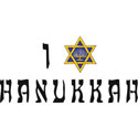 I Love Hanukkah T-Shirt
