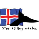 Iceland Stop Killing Whales T-Shirt