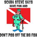 SCUBA Steve Says T-Shirt