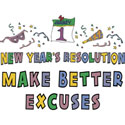 Funny New Years Resolution T-Shirts & Gifts