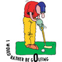 Golfing T-Shirt and Gifts