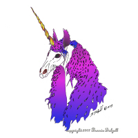 Unicorn Portrait